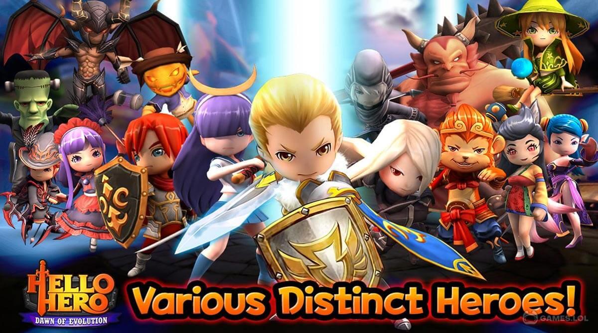 hello hero rpg download free