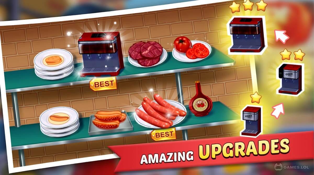 kitchen craze food chef download PC free