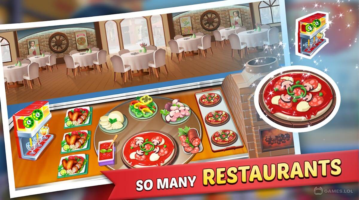 kitchen craze food chef download PC