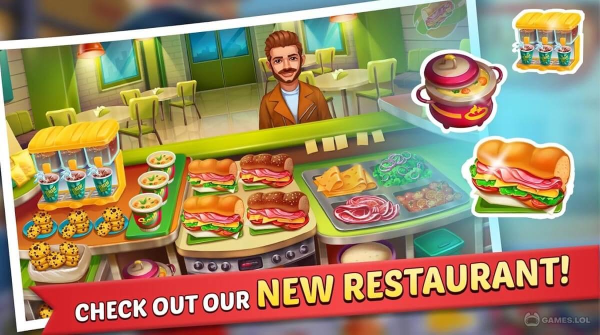 kitchen craze food chef download free
