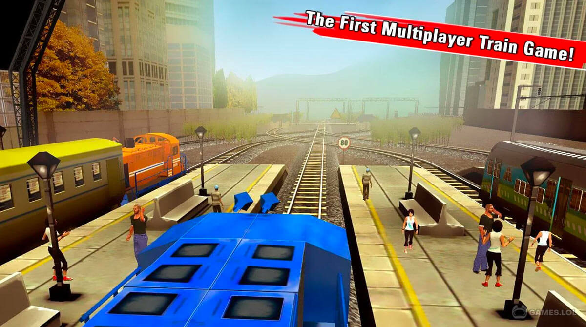 train racing games download free