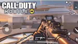 call of duty mobile machine gun