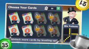 monopoly bingo choose card