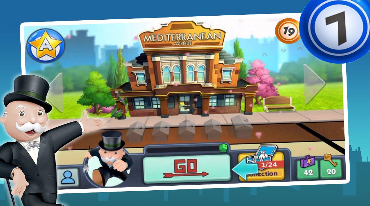monopoly bingo mediterranean avenue