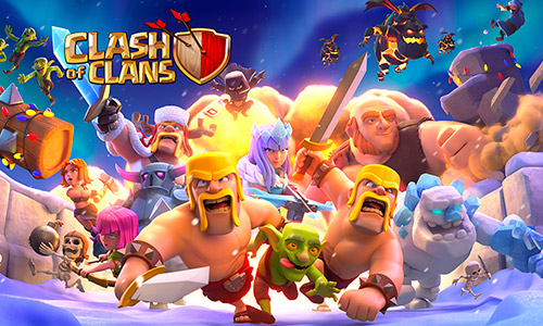 clash of clans free online games