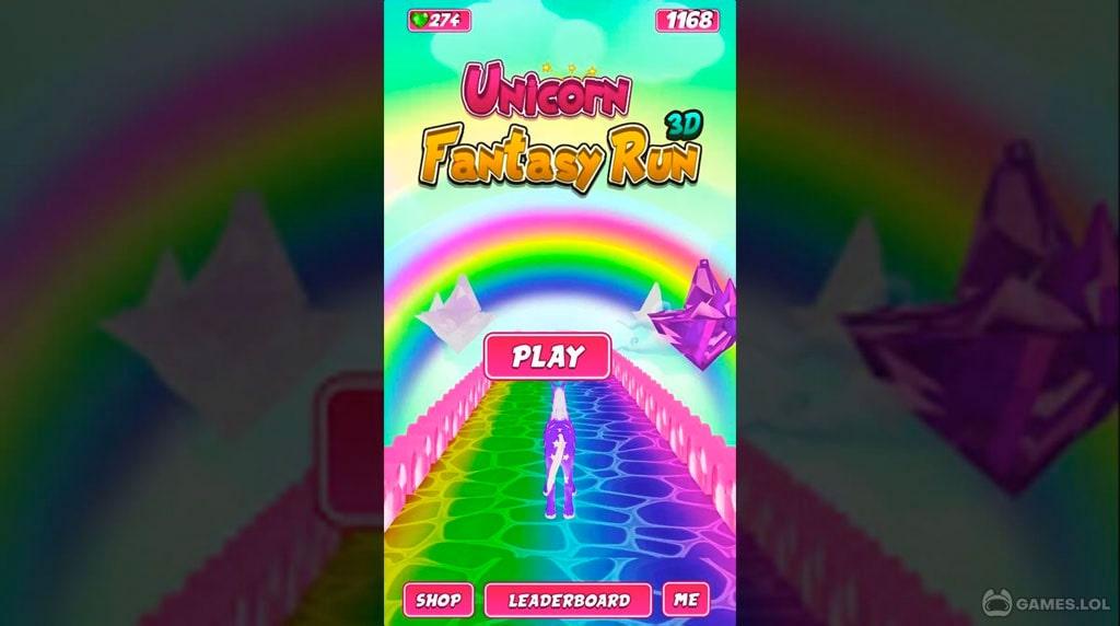 unicorn fantasy run download PC free