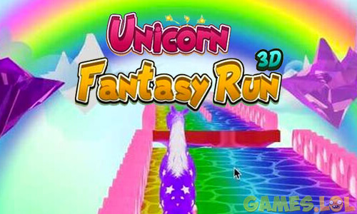 Play Unicorn Fantasy Run 3D on PC