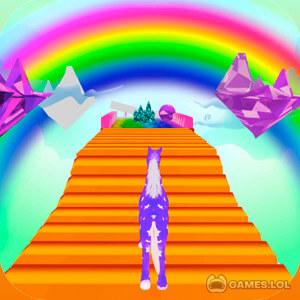 Play Unicorn Fantasy Run 3D on PC