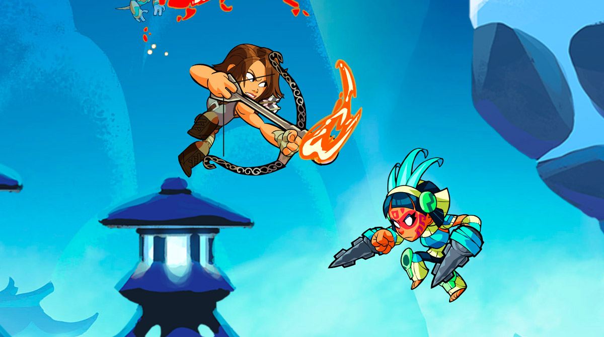 brawlhalla lara crofts burning arrow