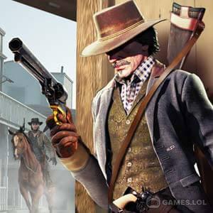 Play Cowboy Gun War on PC