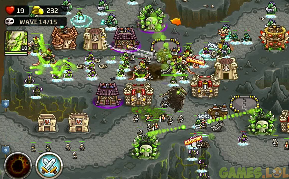 kingdom rush frontiers enemy wave