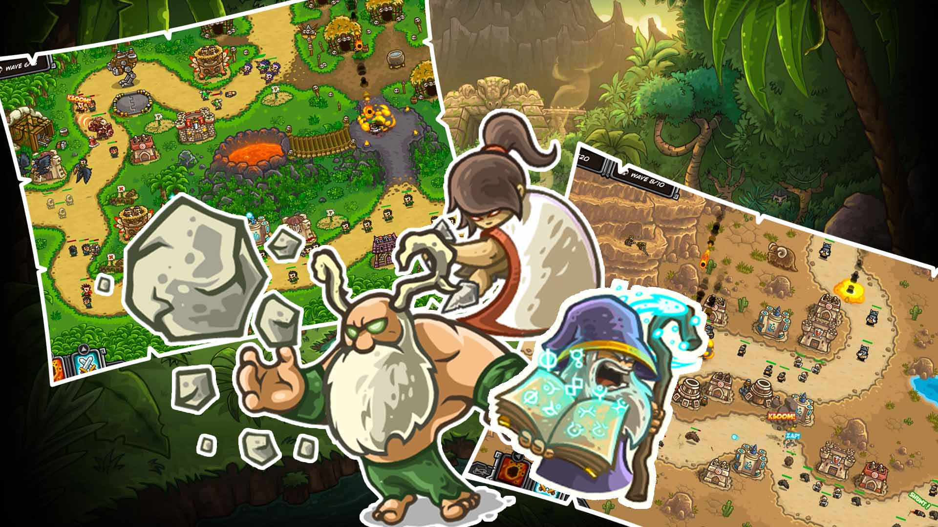 Kingdom Rush Frontiers Free PC Download