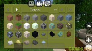 mini block craft inventory