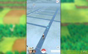 pokemon go searching in the map