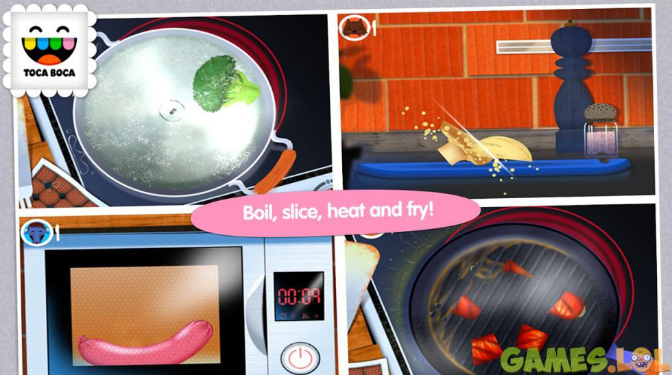 toca kitchen download full version