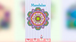new coloring book colorful mandalas