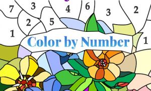 Play Color by Number – New Coloring Book on PC