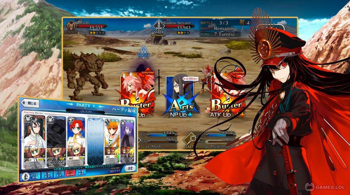 fate grand order download PC 1