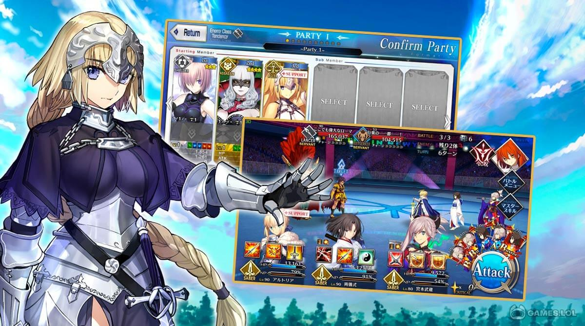 fate grand order download full version 1