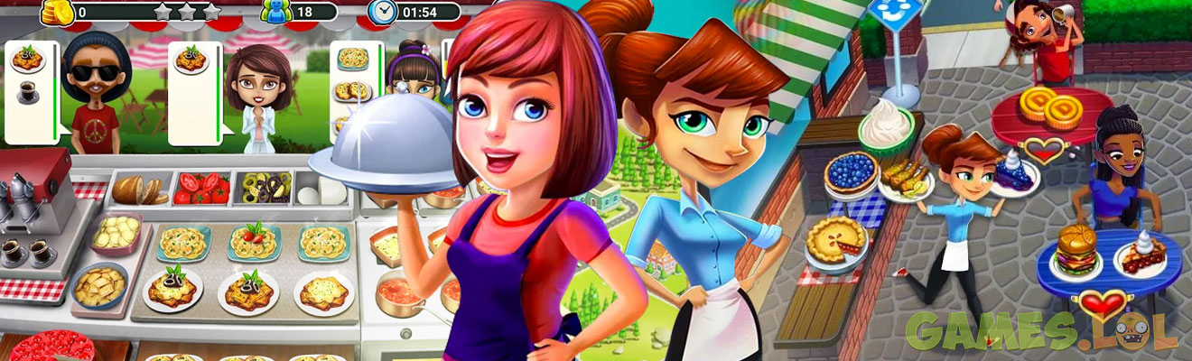 top fastfood cooking games
