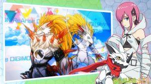 digimon rearise Biyomon and Sora