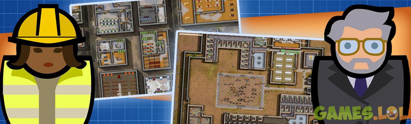 prison architect construction blueprints