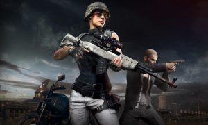 PUBG Mobile Character sniper guns