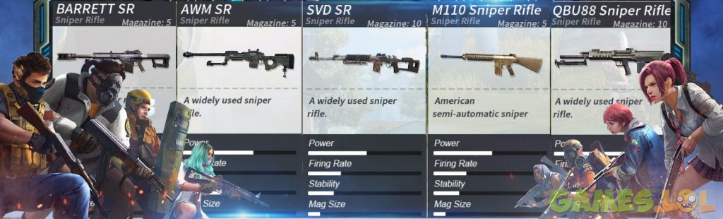 rules of survival best weapons