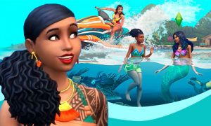 Sims 4: On Mermaids & Tons of Aquatic Fun in Island Living Featured Image