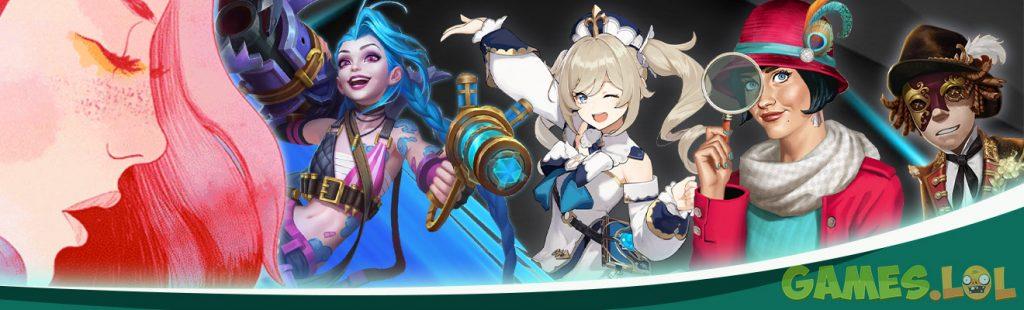 top games stunning visual header