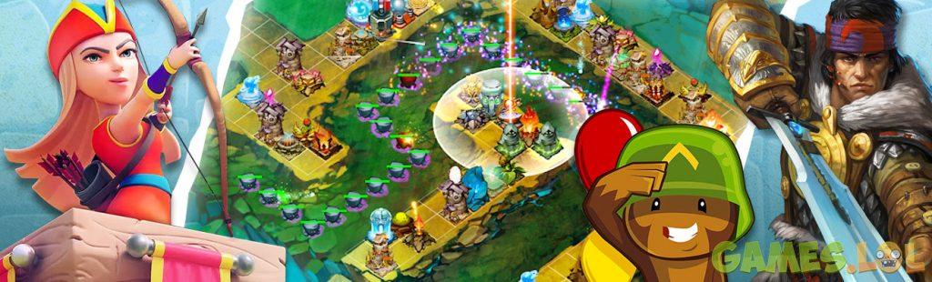 tower defense games online header