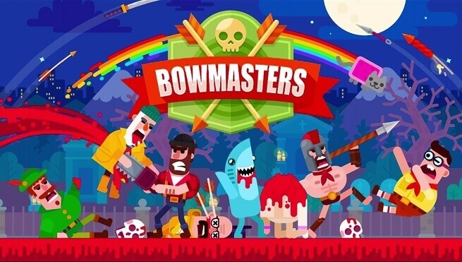 Play Bowmasters on PC