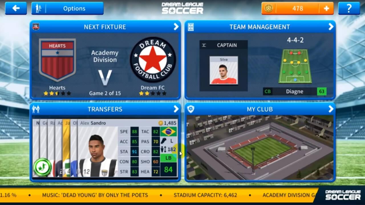 Dream League Soccer 2019 team