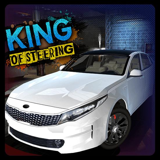 King Steering Car Park In Garage