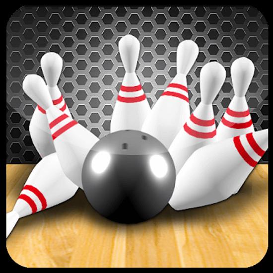 3D Bowling Ball Pin