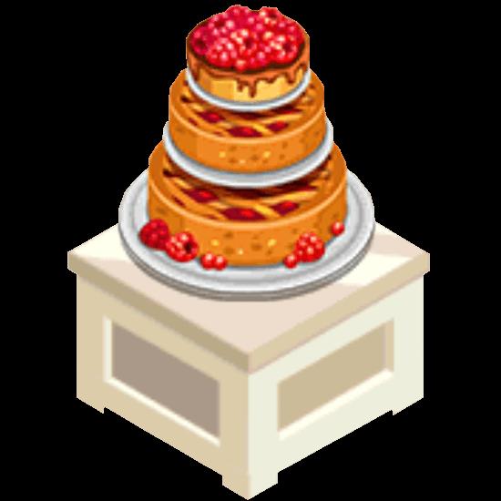 Bakery Story 3 Layered Cake