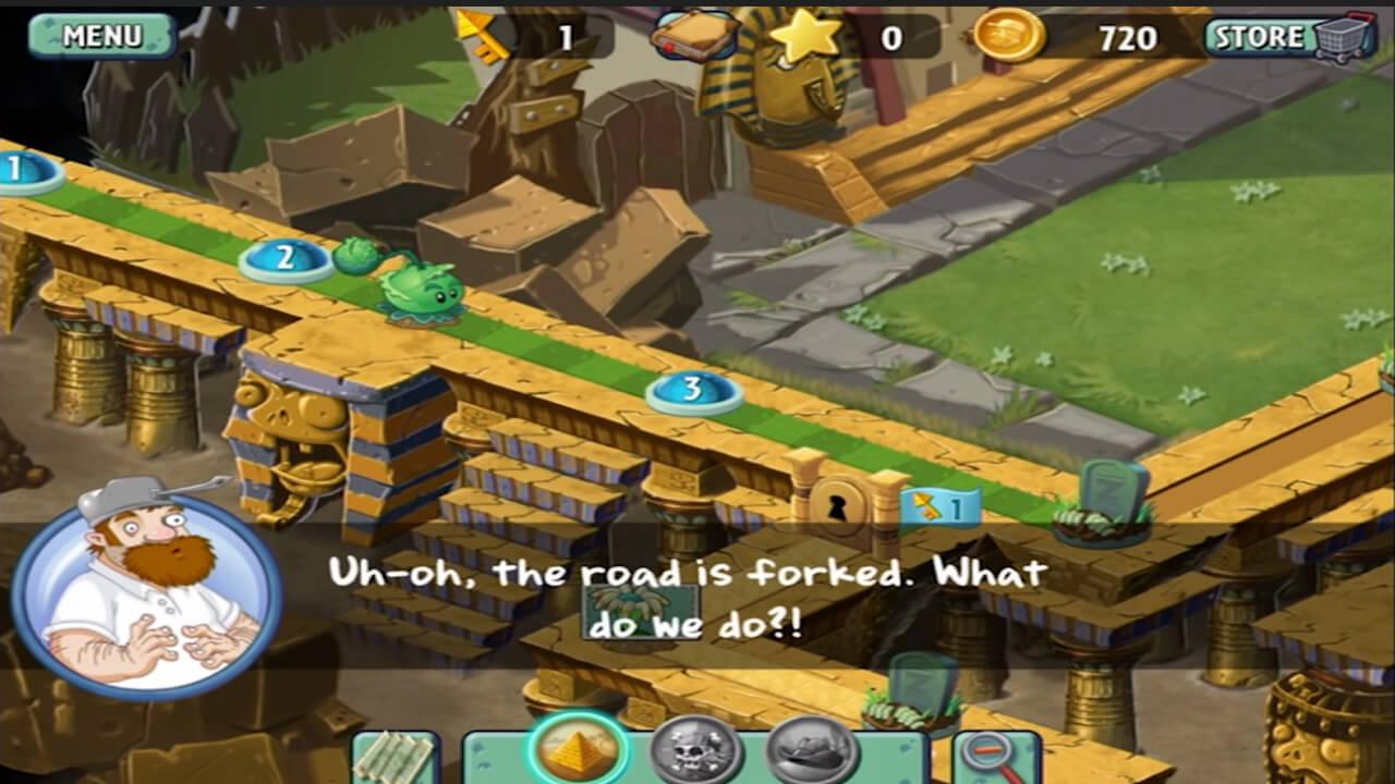 Plants vs Zombies 2 Accient Temple