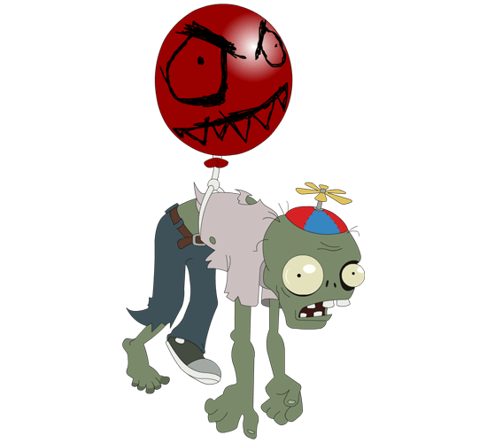 Plants vs Zombies 2 floater zombie