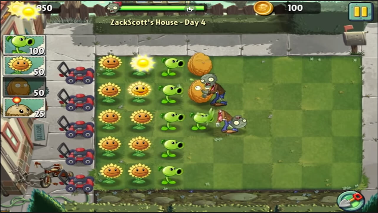 Plants vs Zombies 2 Protect