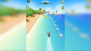 Talking Tom Jetski Collect All Coins