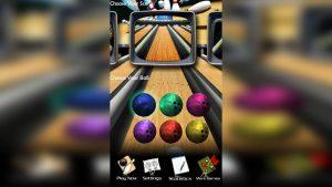 3D Bowling Choose The Ball