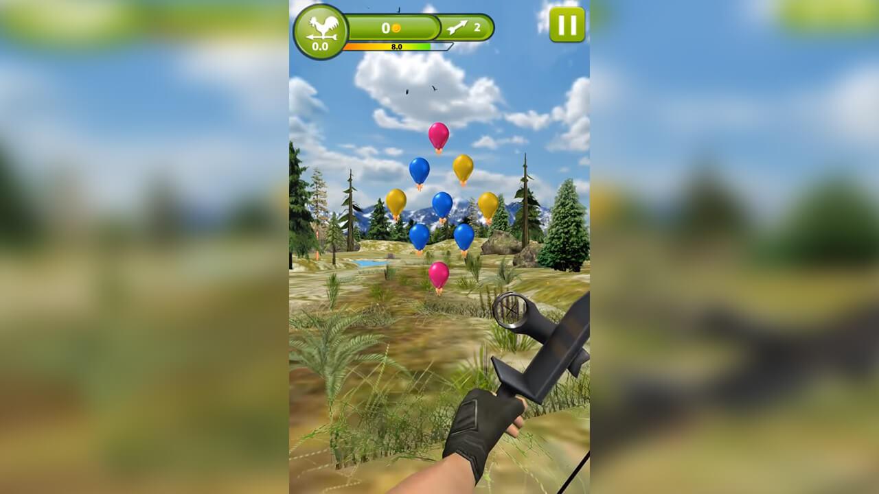 Archery Master 3D Target All Balloon
