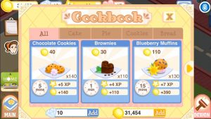 Bakery Story Search The Cookbook