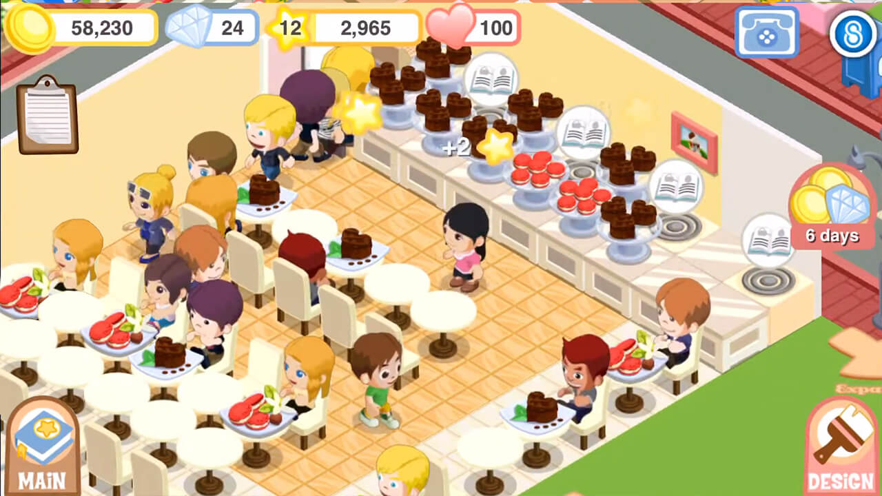 Bakery Story Assist All The Customer