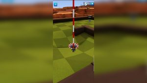 golf battle shoot for the goal