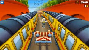 subway surfers jump