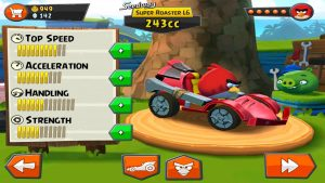 angry birds go car customize