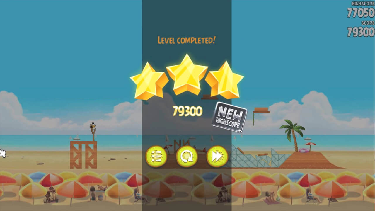 Angry Birds Rio Highscore