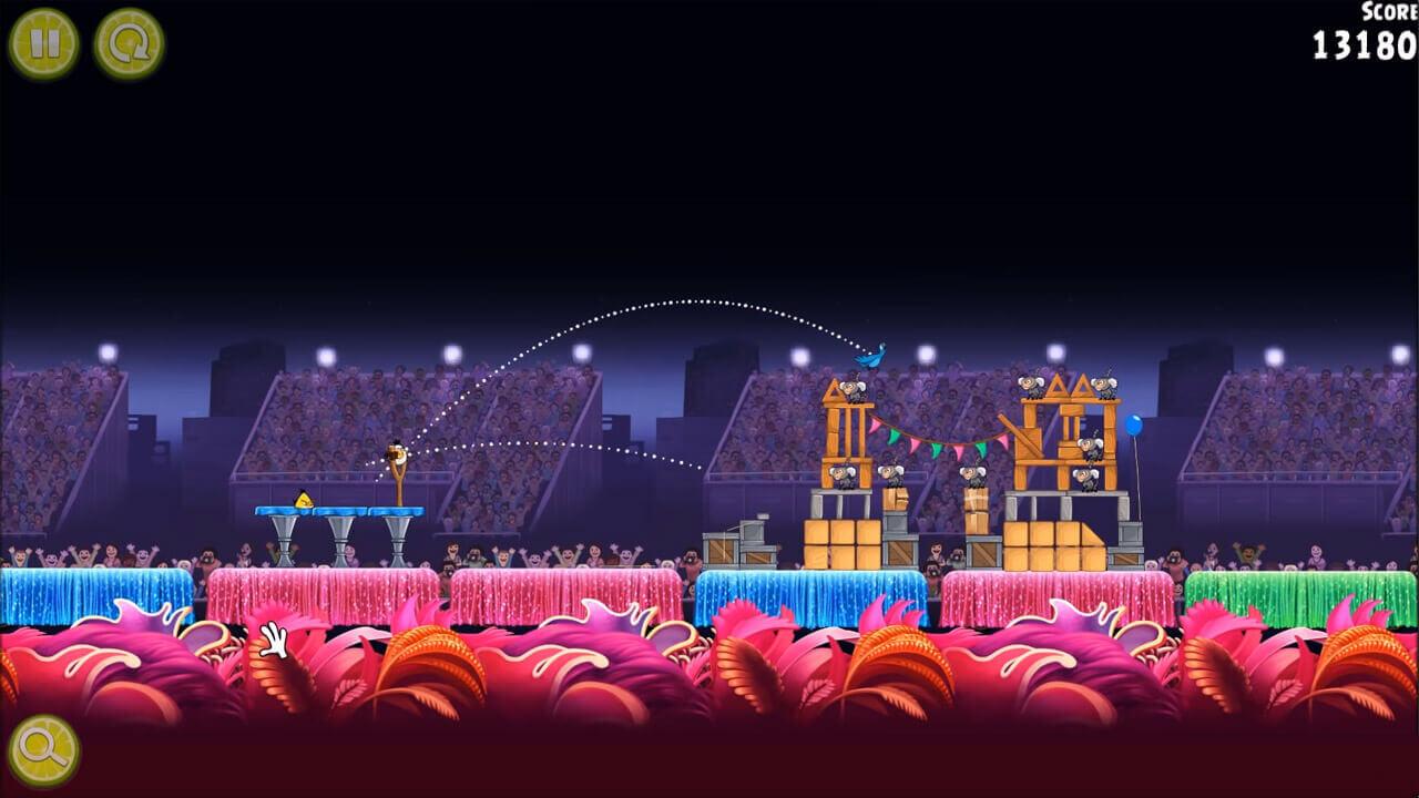 Angry Birds Rio Stadium