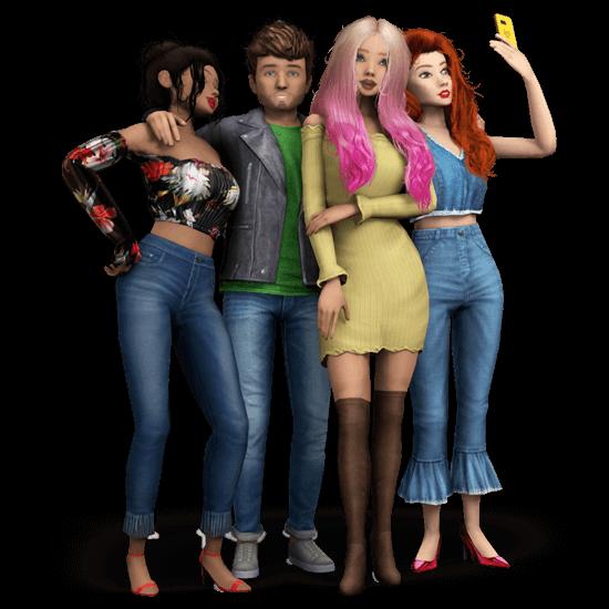 avakin life 3d virtual world characters